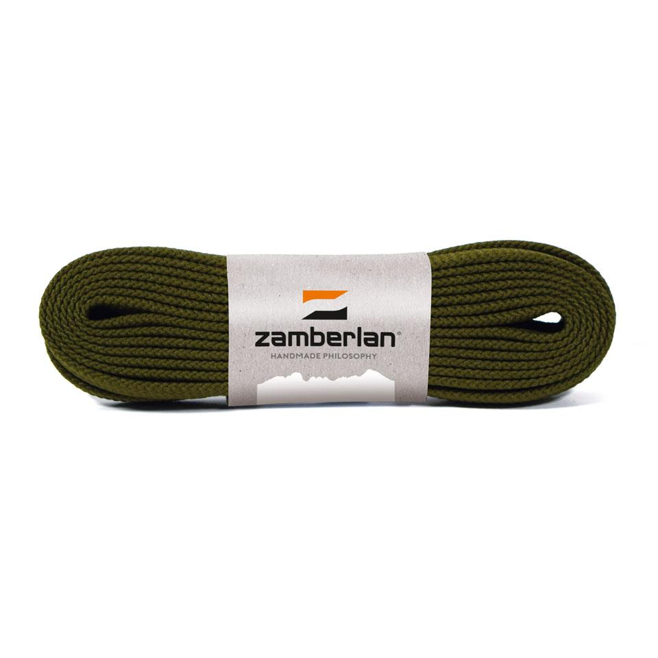 ZAMBERLAN® REPLACEMENT FLAT BOOT LACES   -   Dark Green