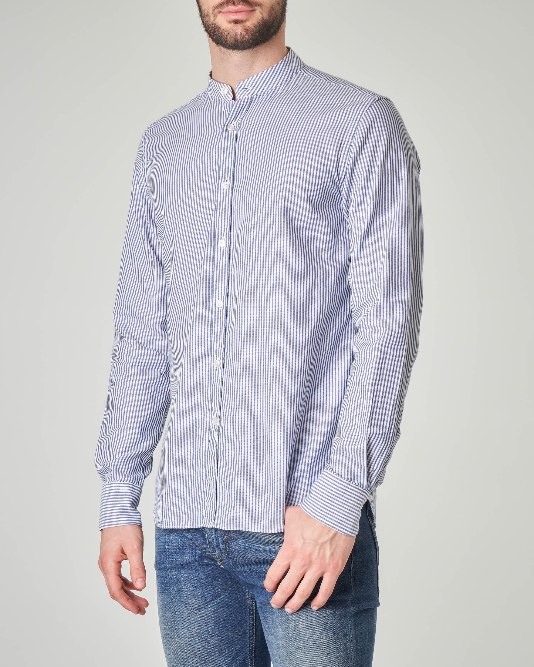 Camicia bastoncino a coreana