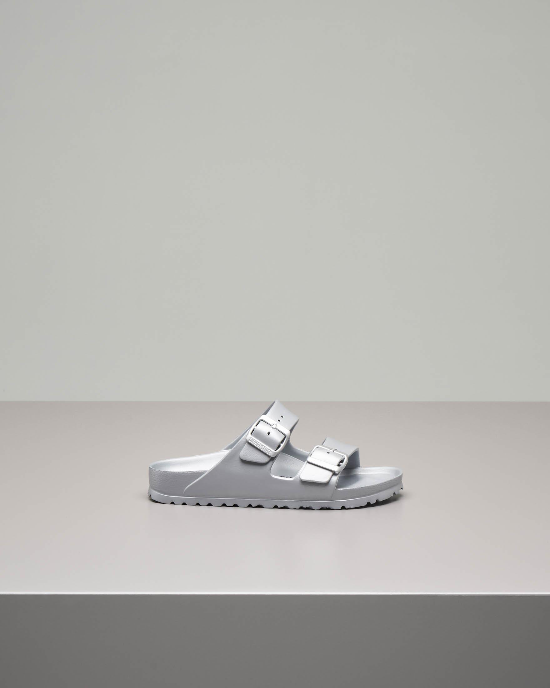 Sandalo Arizonain EVA color argento con doppia fascetta