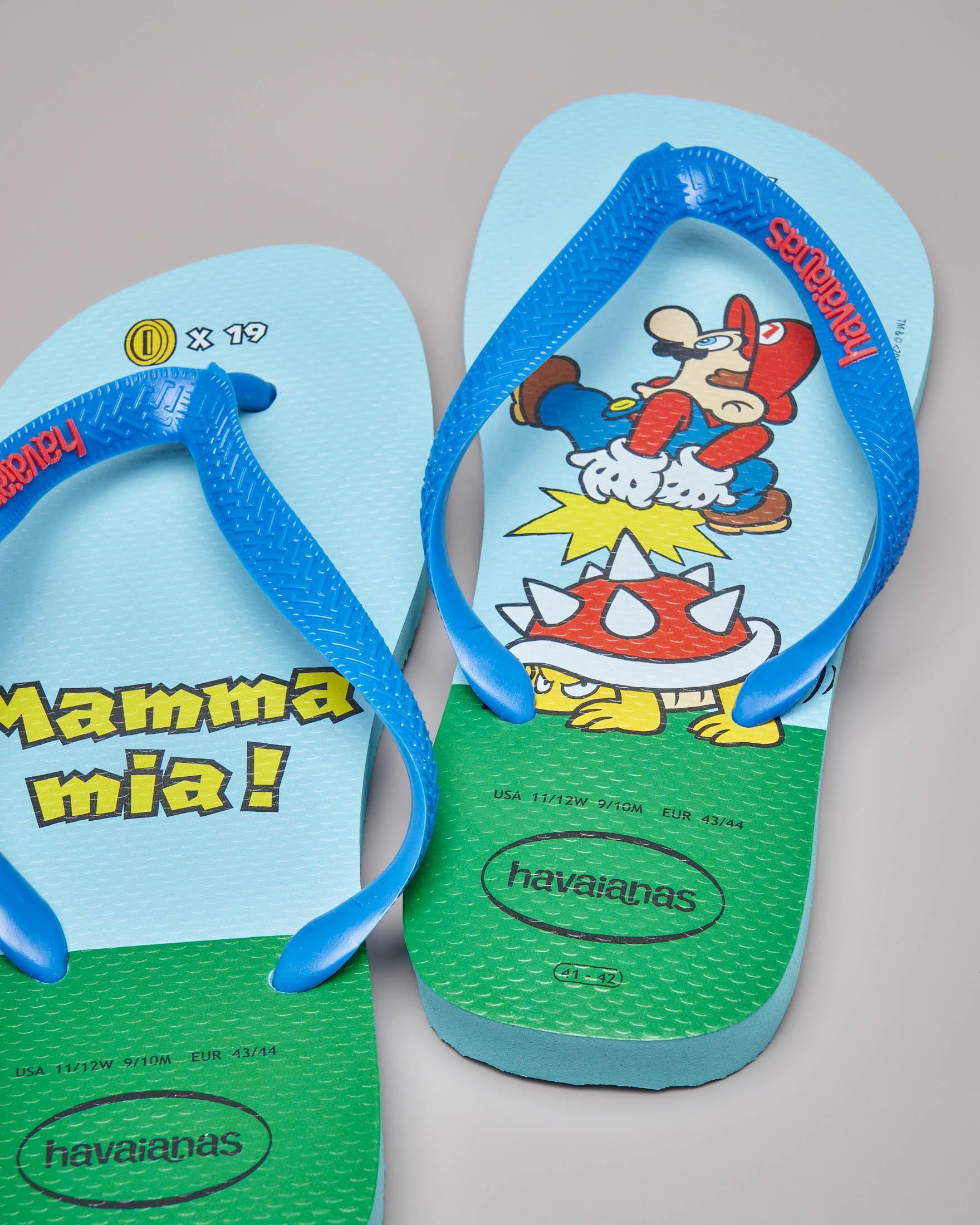 Havaianas azzurra Mario Bros