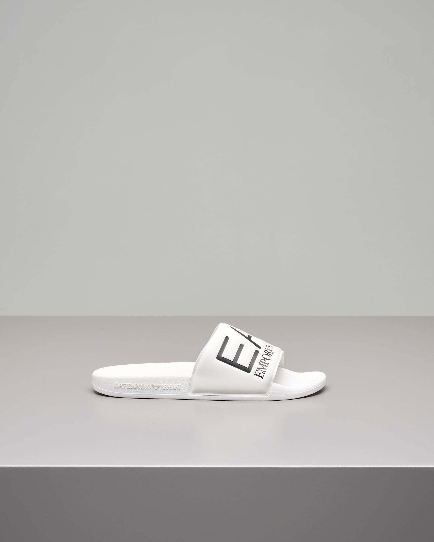 Ciabatta bianca con maxi-logo