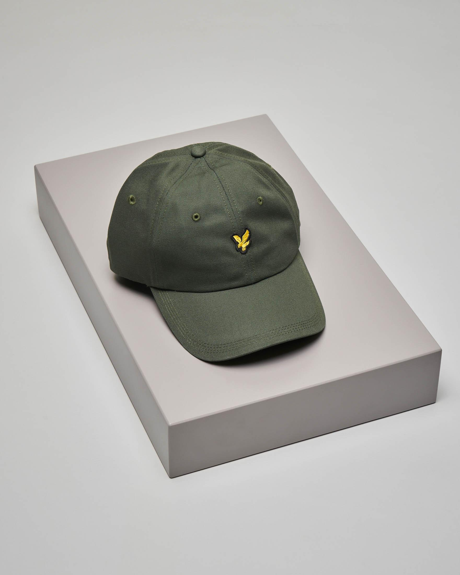 Berretto verde militare con frontino