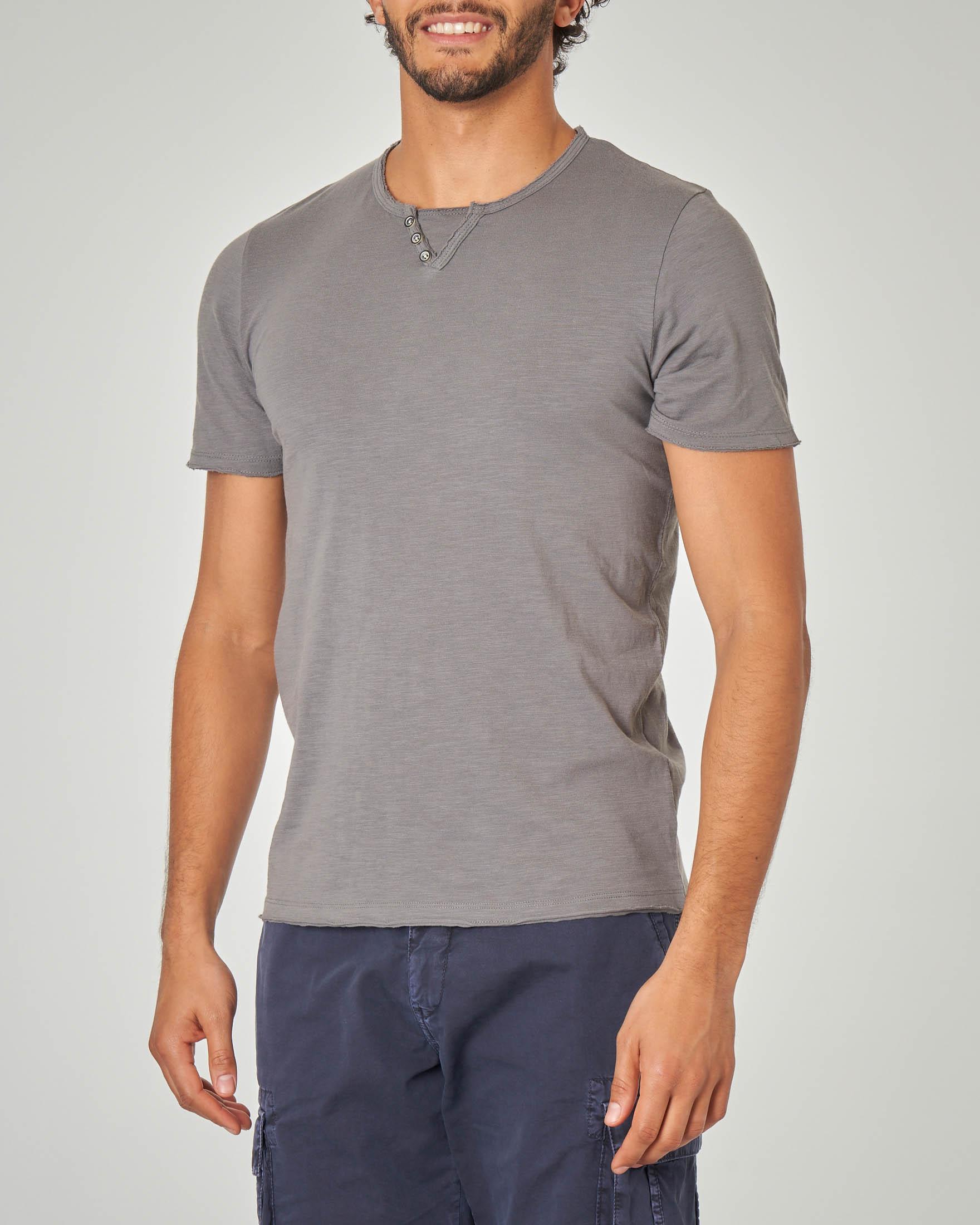 T-shirt grigia serafino