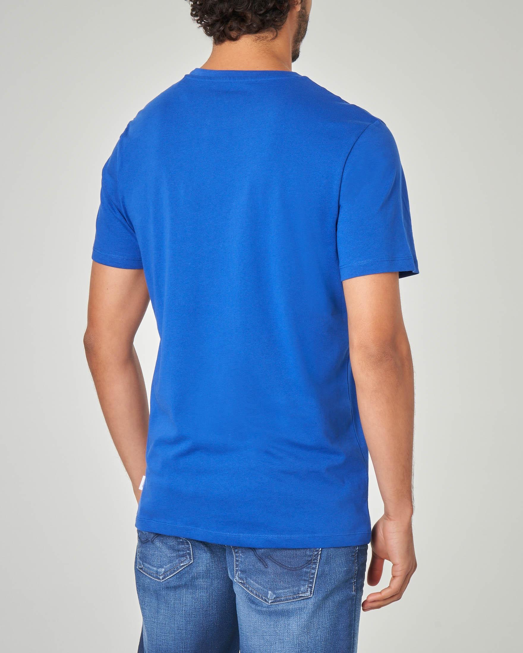 T-shirt blu royal vacay