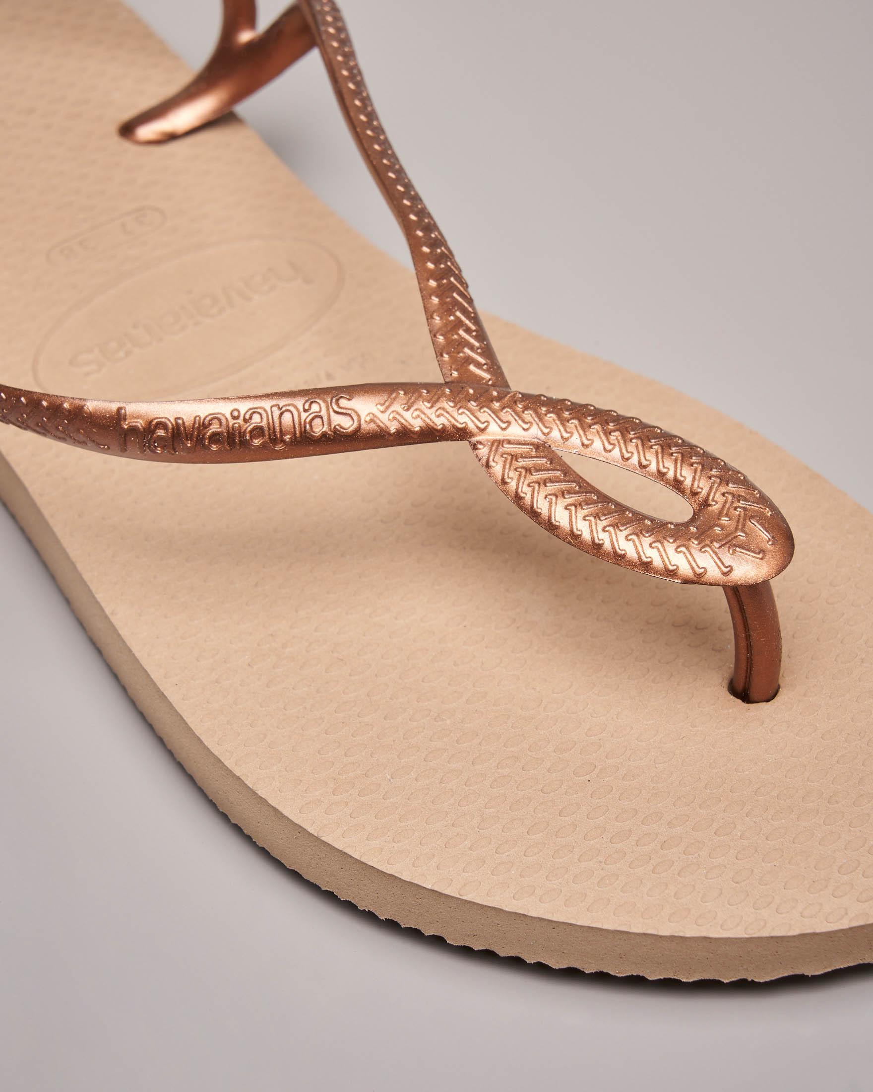 Havaians Luna color bronz con fascetta intrecciata alla caviglia
