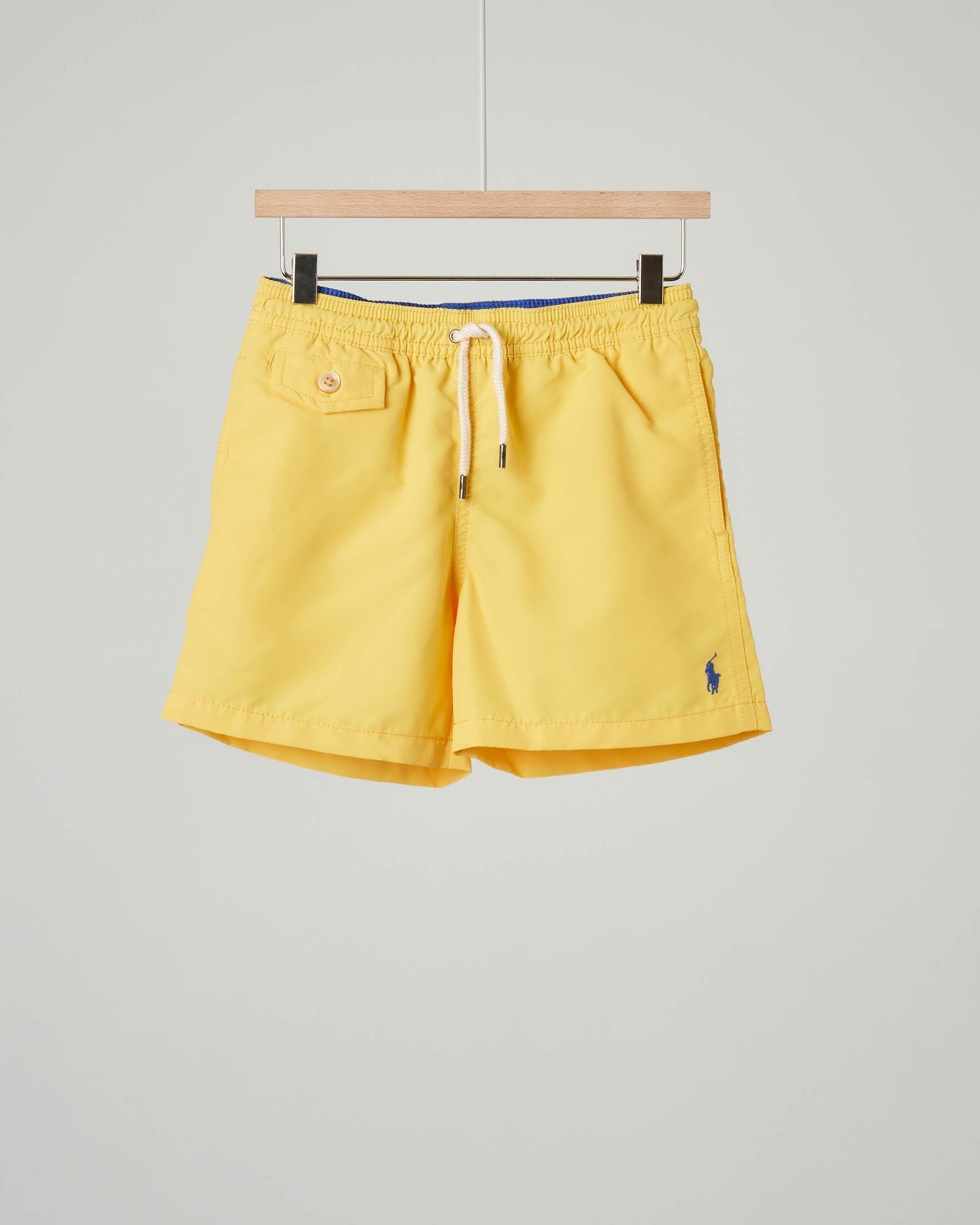 Costume boxer giallo