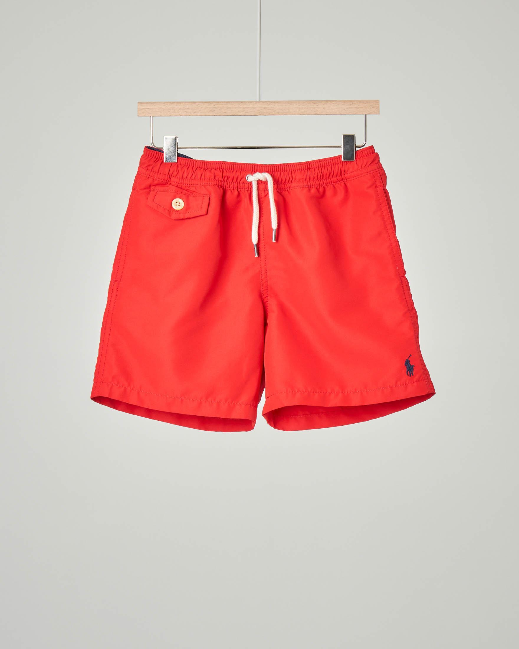 Costume boxer rosso