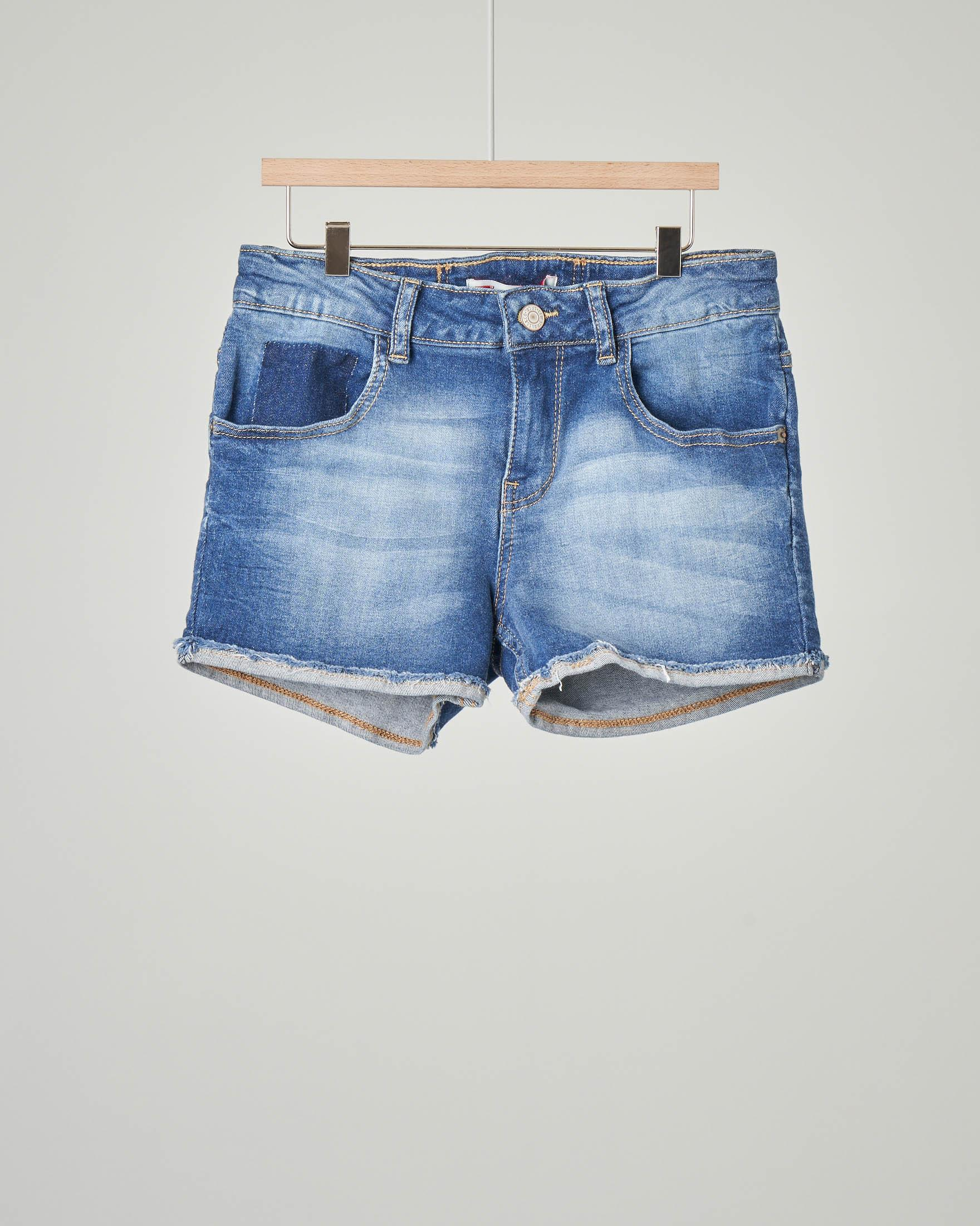 Shorts in denim stretch