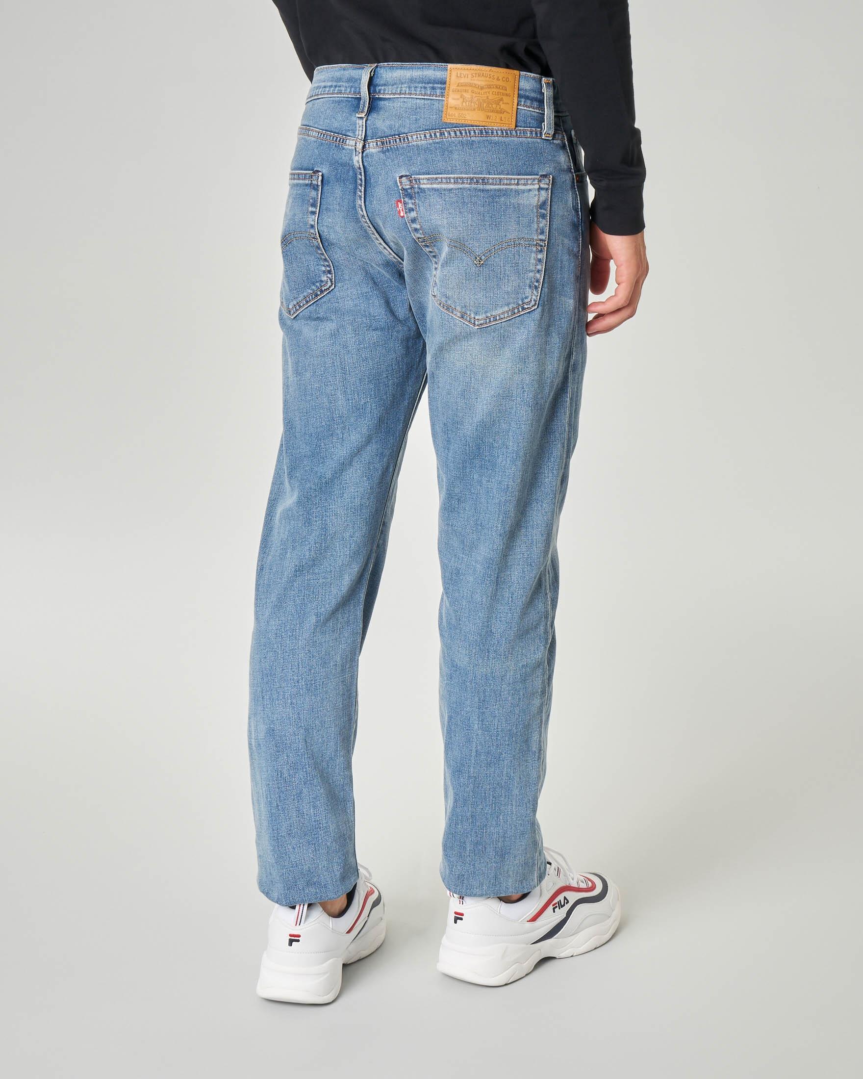 Jeans 502 lavaggio super stone wash
