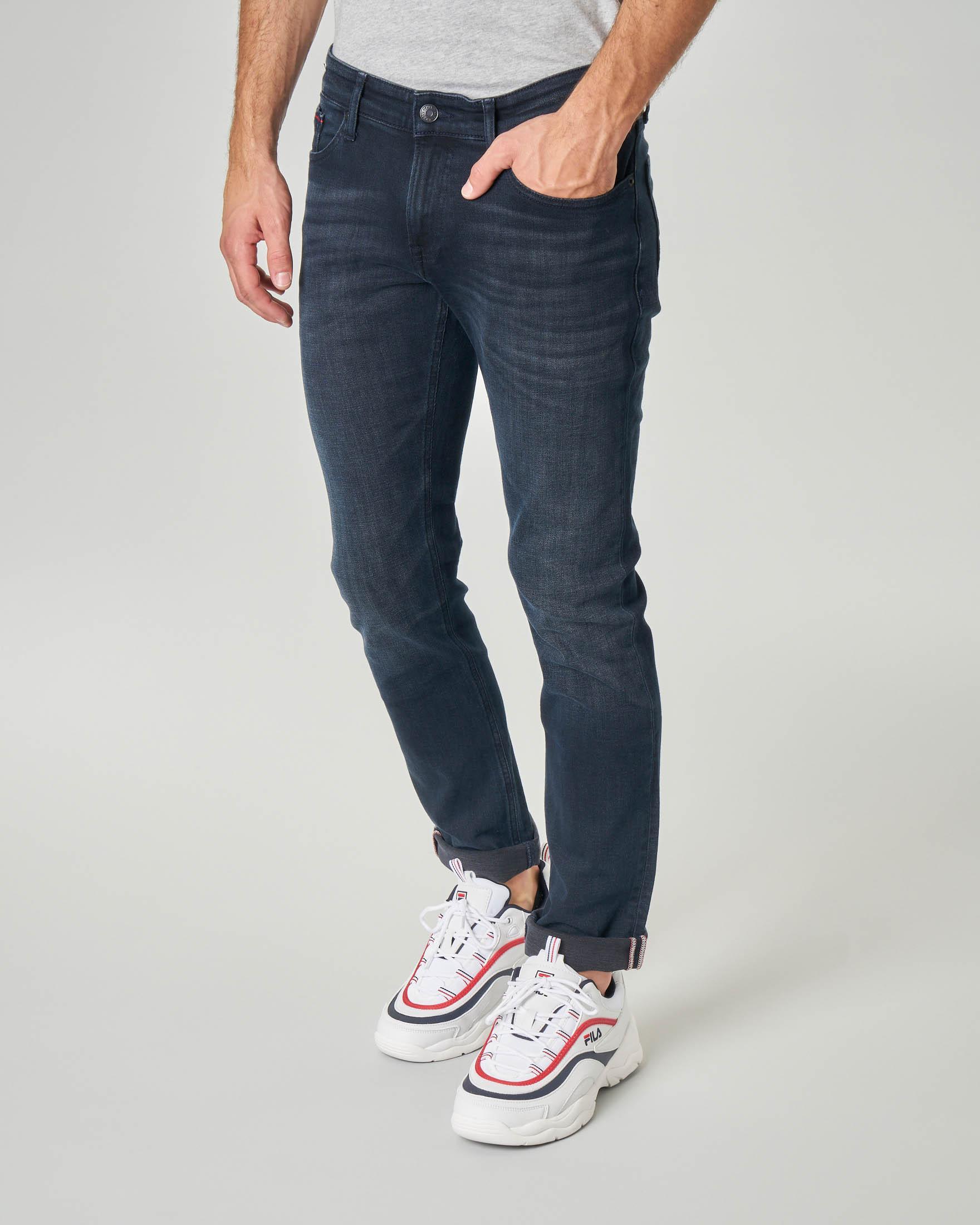 Jeans Scanton lavaggio blu scuro