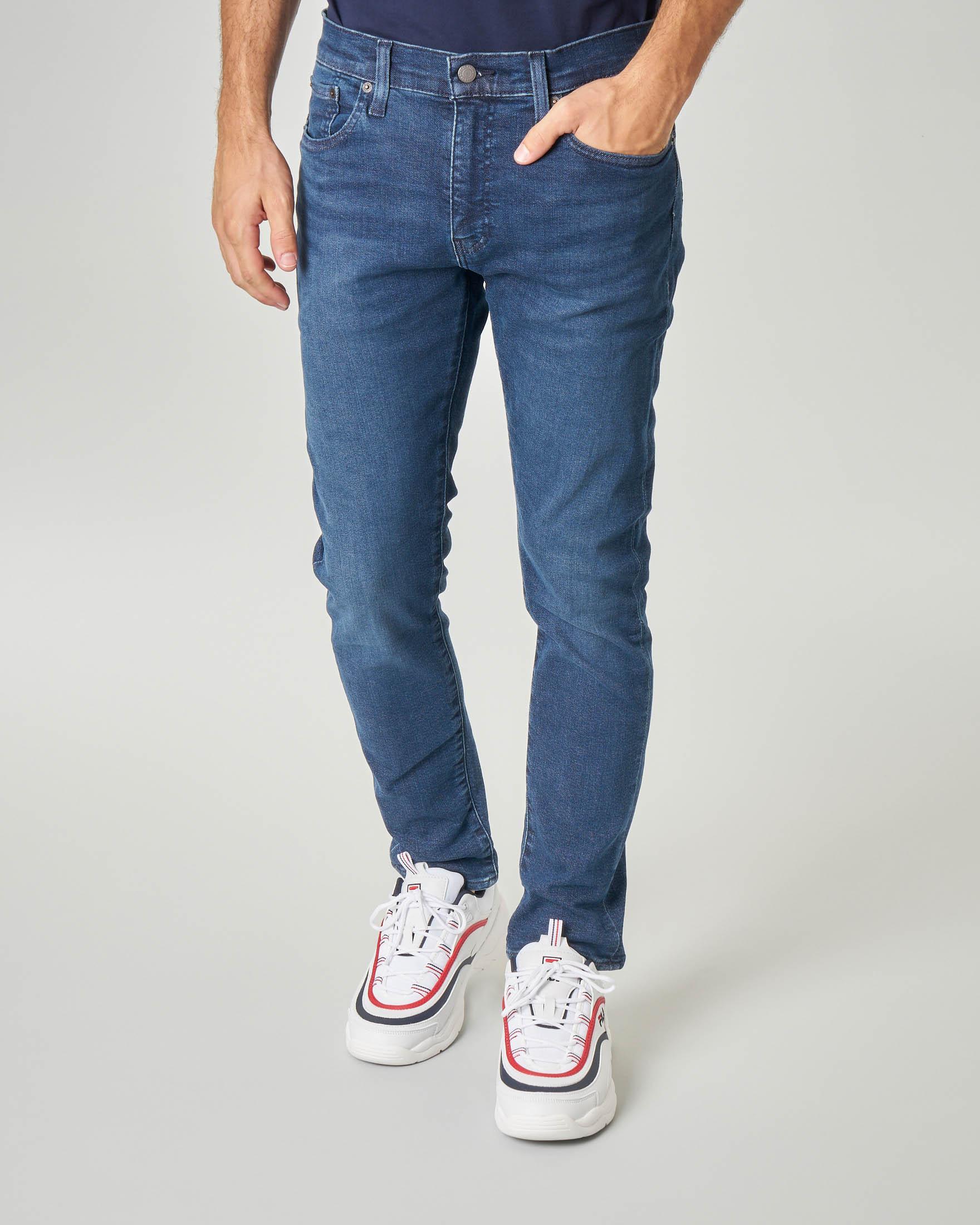 Jeans 512 lavaggio medio stone wash