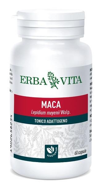 MACA - INTEGRATORE TONICO CONTRO LA STANCHEZZA 400 MG 60 CAPSULE ERBAVITA