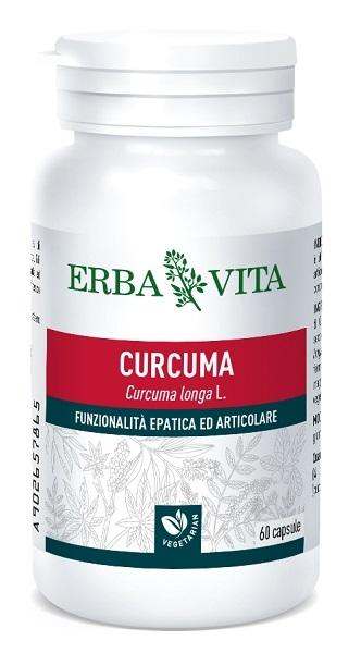 CURCUMA - INTEGRATORE FUNZIONALITA' EPATICA 60 CAPSULE ERBAVITA
