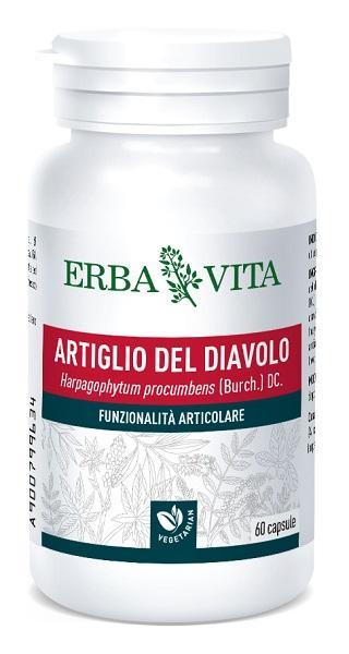 ARTIGLIO DEL DIAVOLO IN CAPSULE - INTEGRATORE PER BENESSERE ARTICOLARE ERBAVITA 400 MG 60 CAPSULE