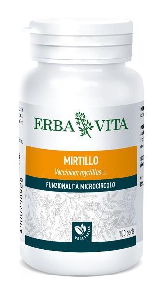 MIRTILLO - INTEGRATORE AZIONE ANTIOSSIDANTE ERBAVITA 100 PERLE