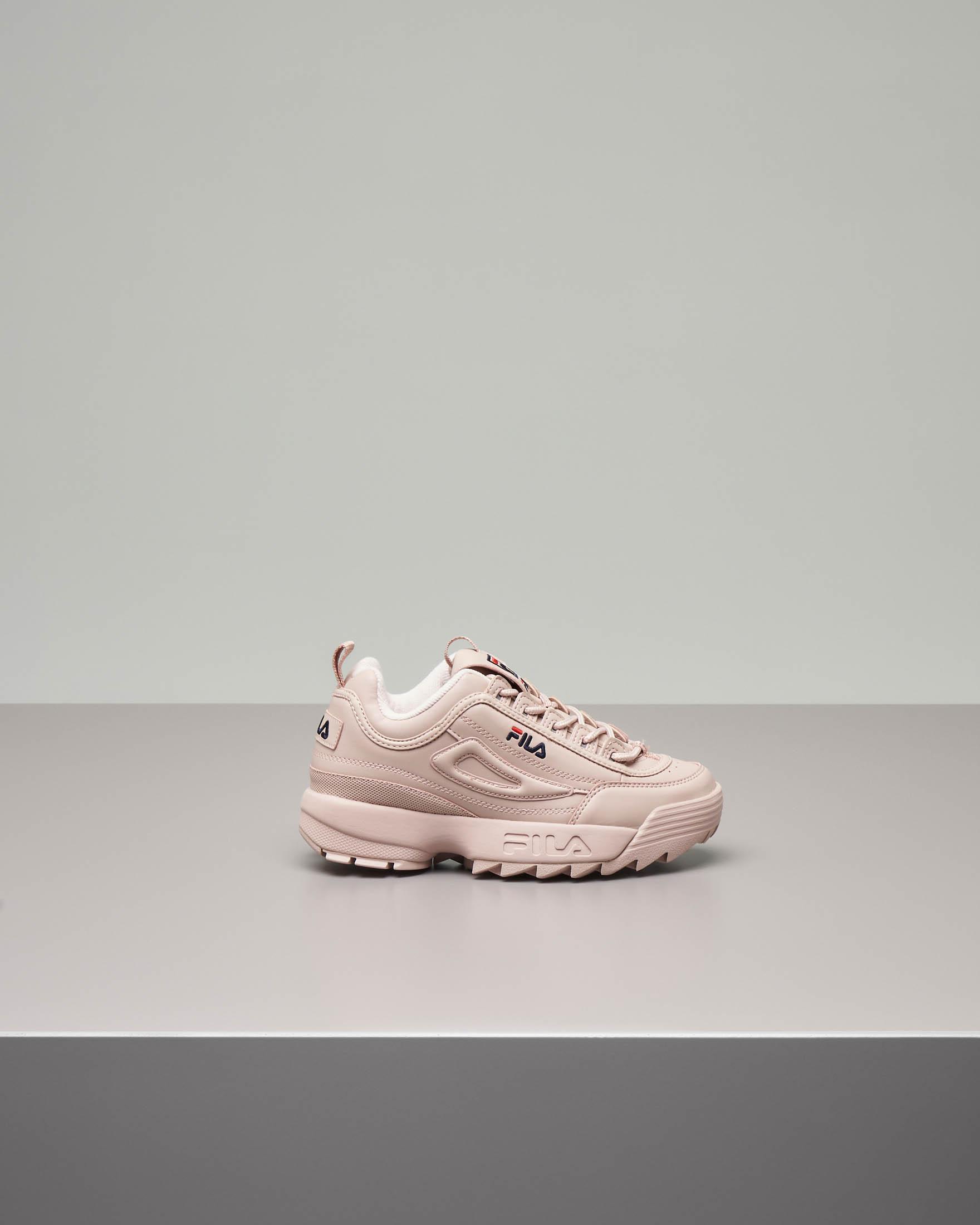 Sneaker Fila Disruptor colore rosa