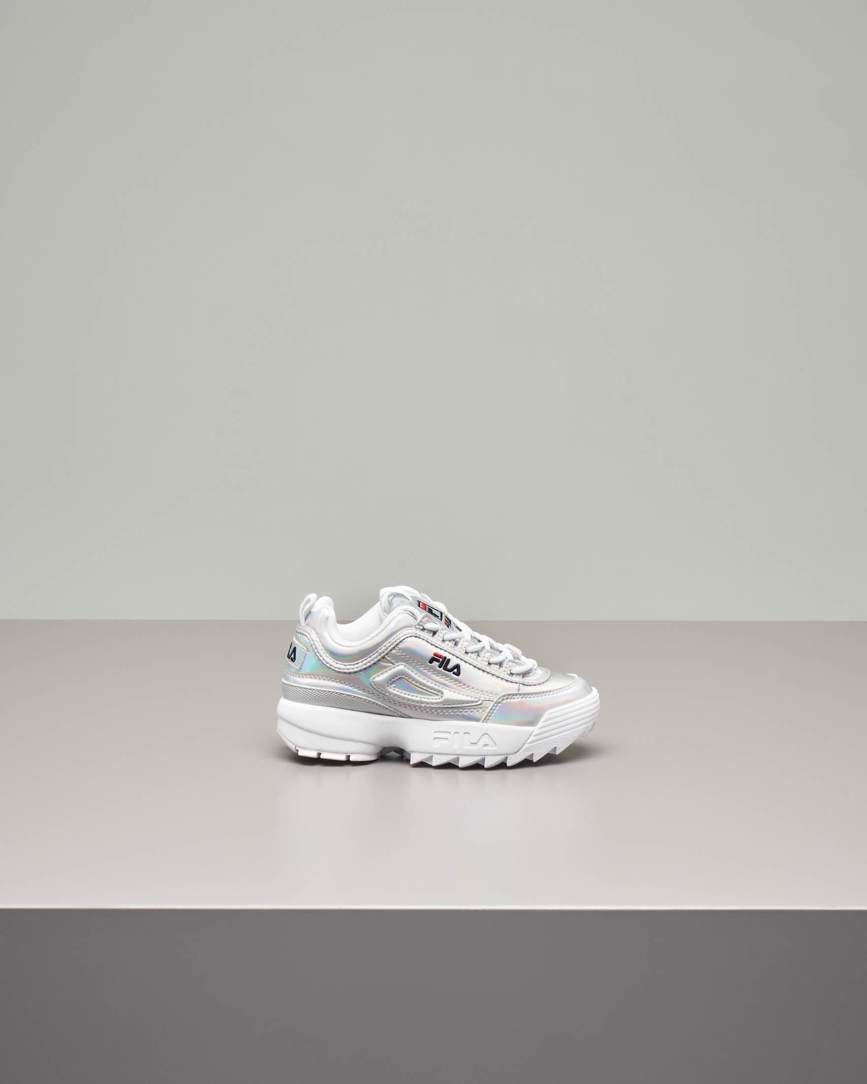 Sneakers Disruptor argento 30-35