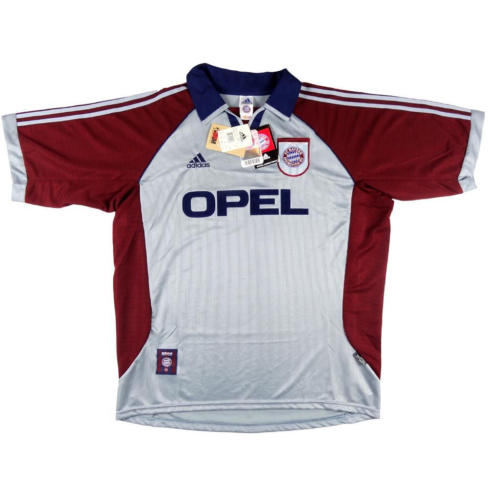 1998-99 Bayern Monaco Maglia Champions League XL *Nuova