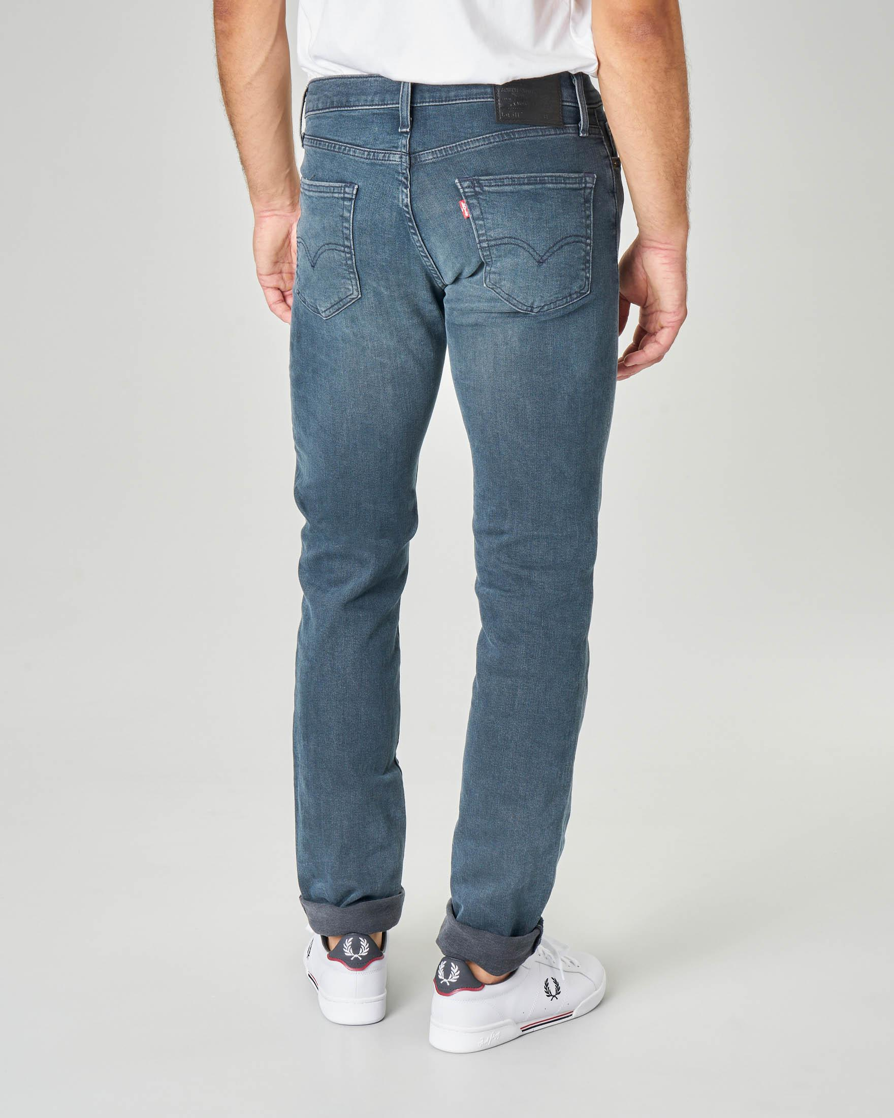 Jeans 511 slim lavaggio scuro stone wash