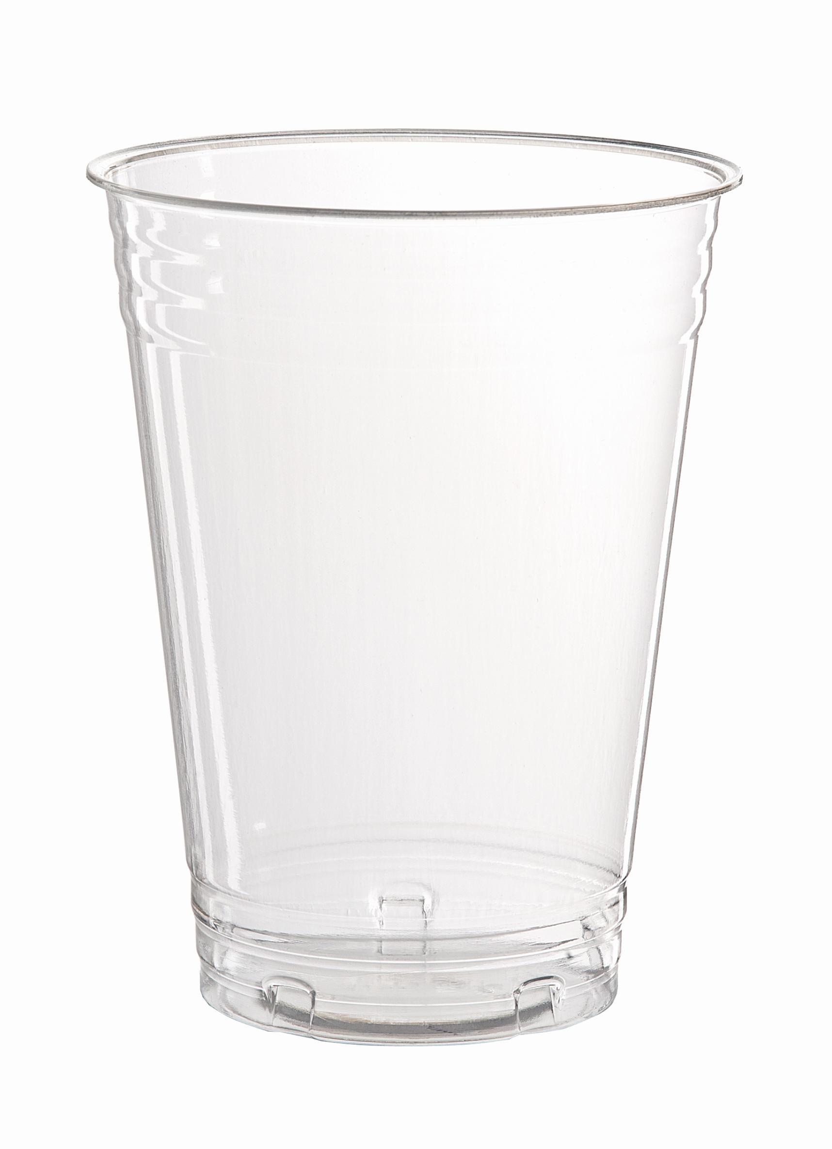 FLO Bicchieri 20 pezzi trasparenti biologici 250cc prodotto per pic nic