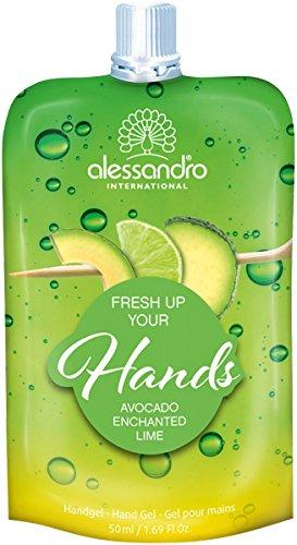 Image of ALESSANDRO INTERNATIONAL fresh up your hands hand gel avocado e lime 50ml