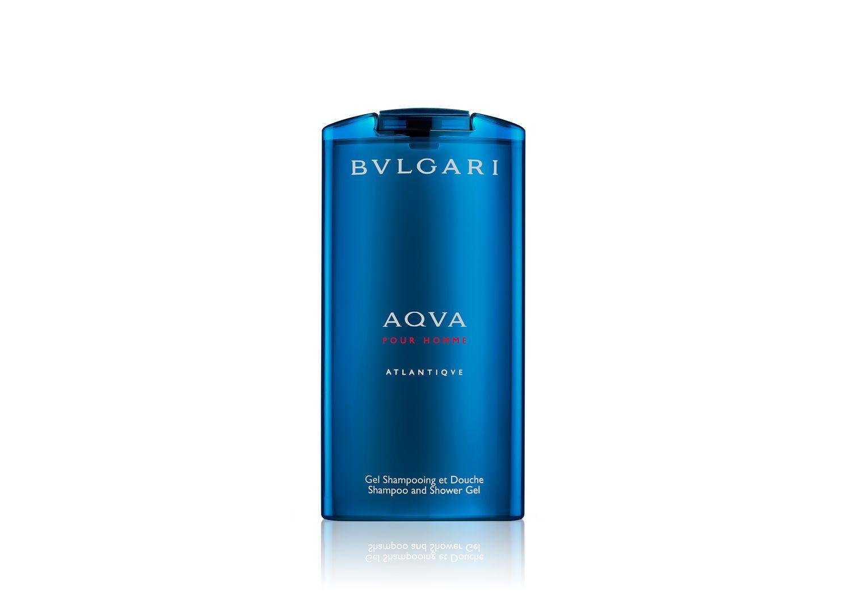 Image of BULGARI aqva pour homme atlantiqve gel doccia shampoo 200ml
