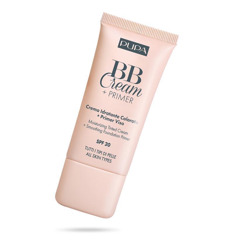 Image of PUPA bb crema+primer tutti i tipi di pelle idratante colorato 03 Sand