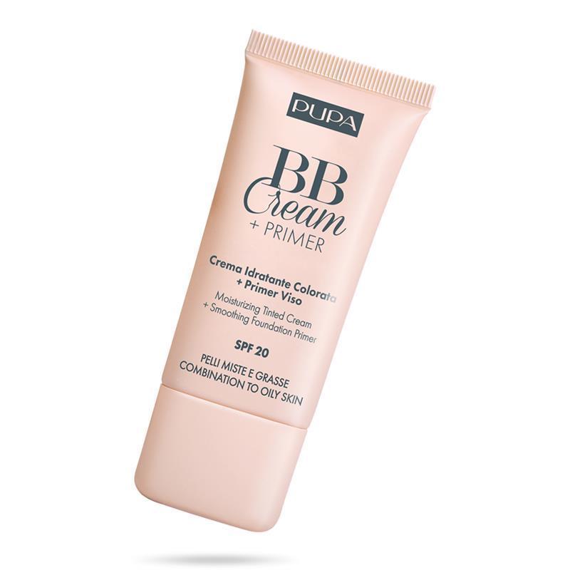 Image of PUPA bb crema+primer pelli miste e grasse idratante colorato 04 Bronze