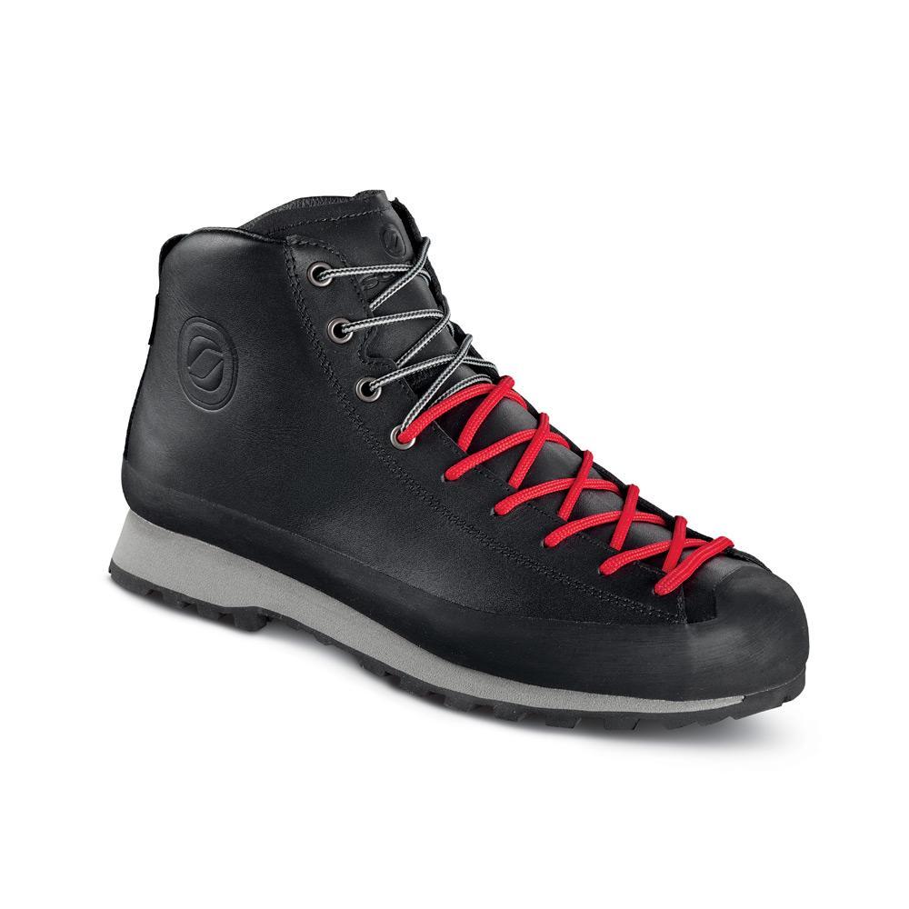 ZERO8 GTX   -    Per gli sportivi metropolitani    -   Black (Leather)