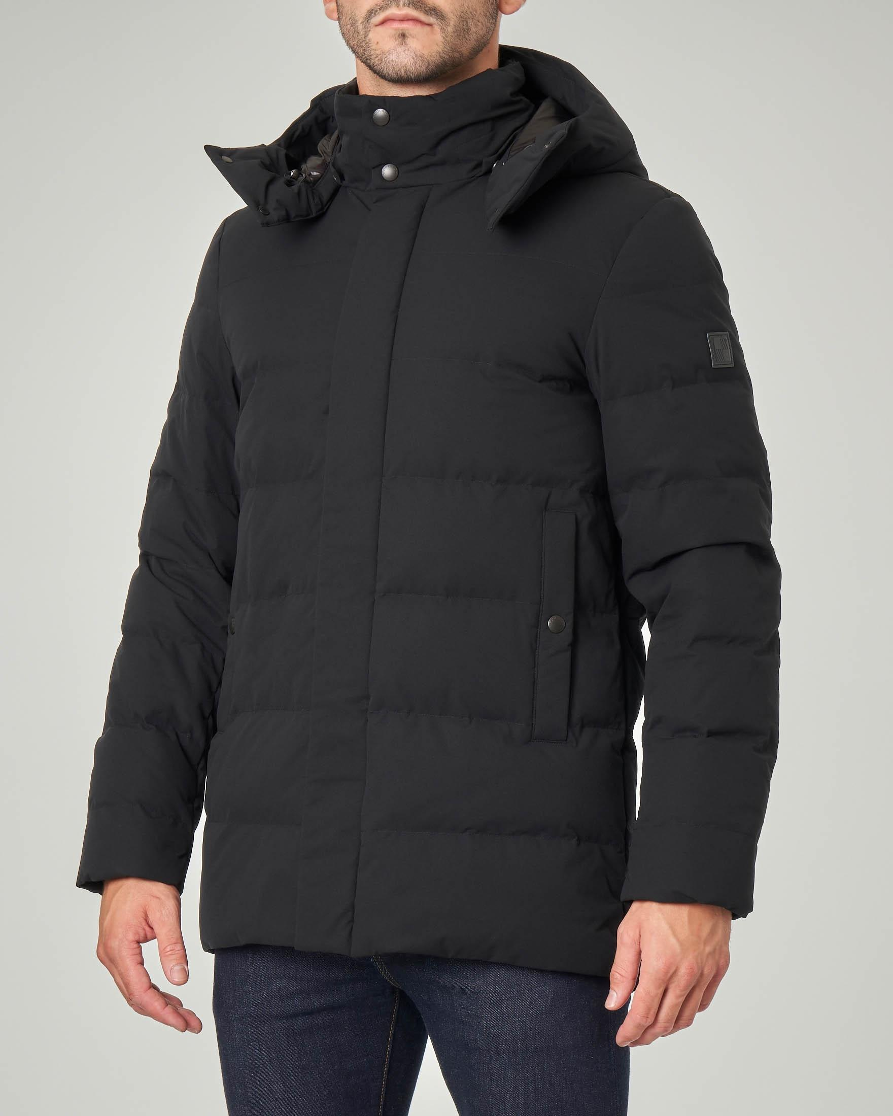 Sierra Long Jacket nera