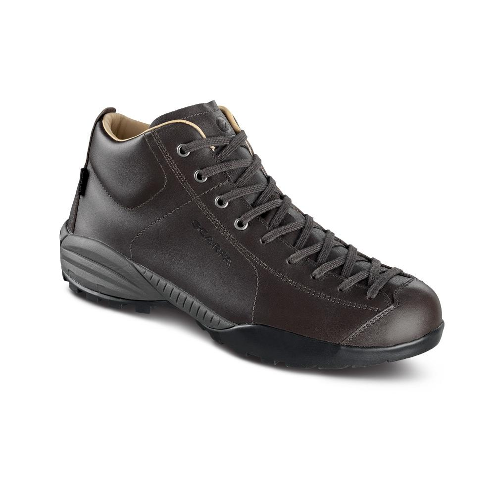 MOJITO URBAN MID CITY   -   Ideal footwear for rainy days   -   Black (Leather)