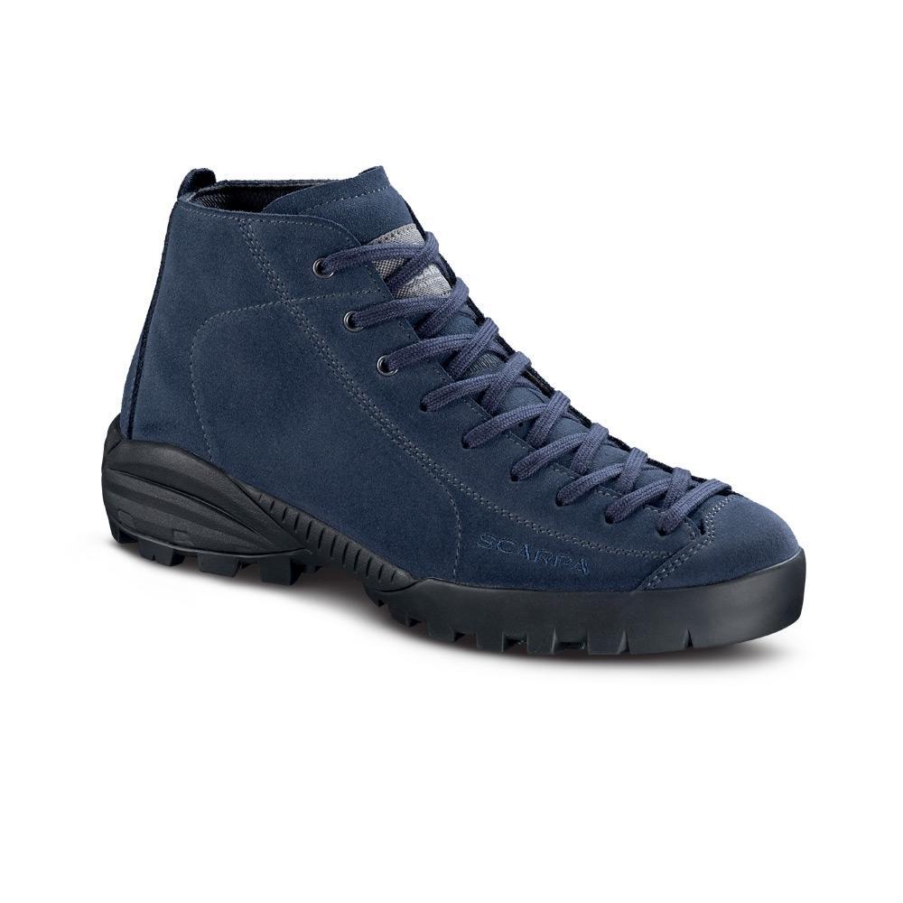 MOJITO CITY MID GTX  -   Calzatura confortevole e impermeabile per il tempo libero, pelle nabuk   -   Blue Cosmo