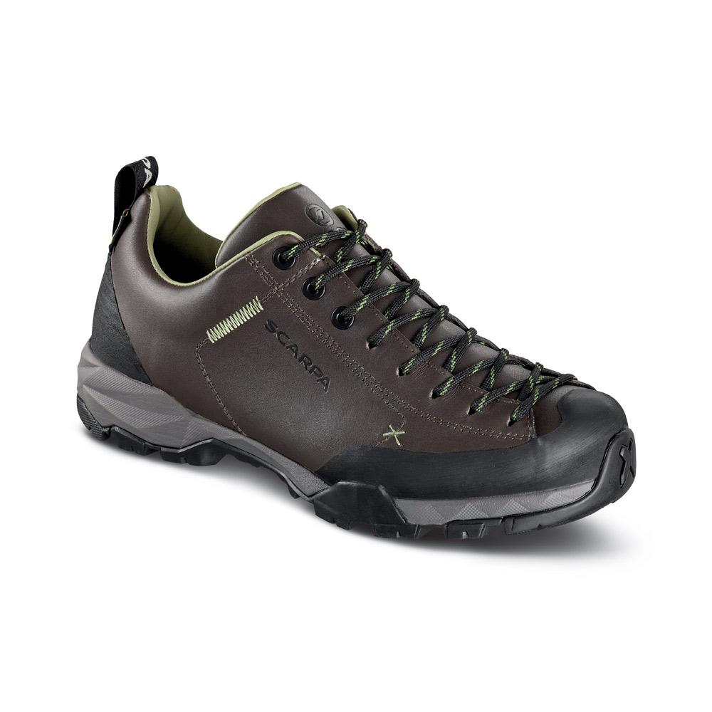 MOJITO TRAIL GTX WMN   -   For fast hikes with light backpacks, waterproof   -   Elephant - Green Bamboo