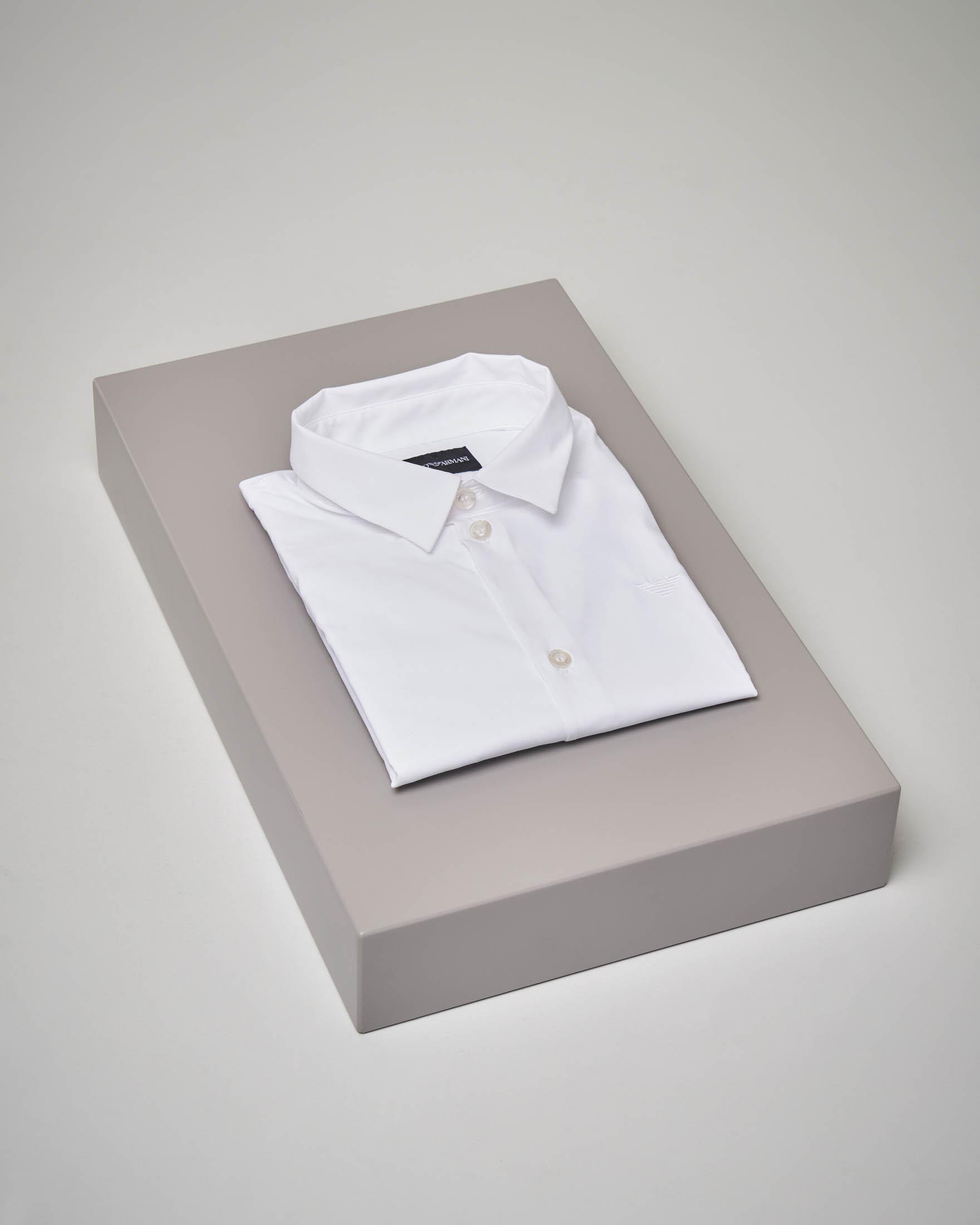 Camicia bianca manica lunga 10-16 anni