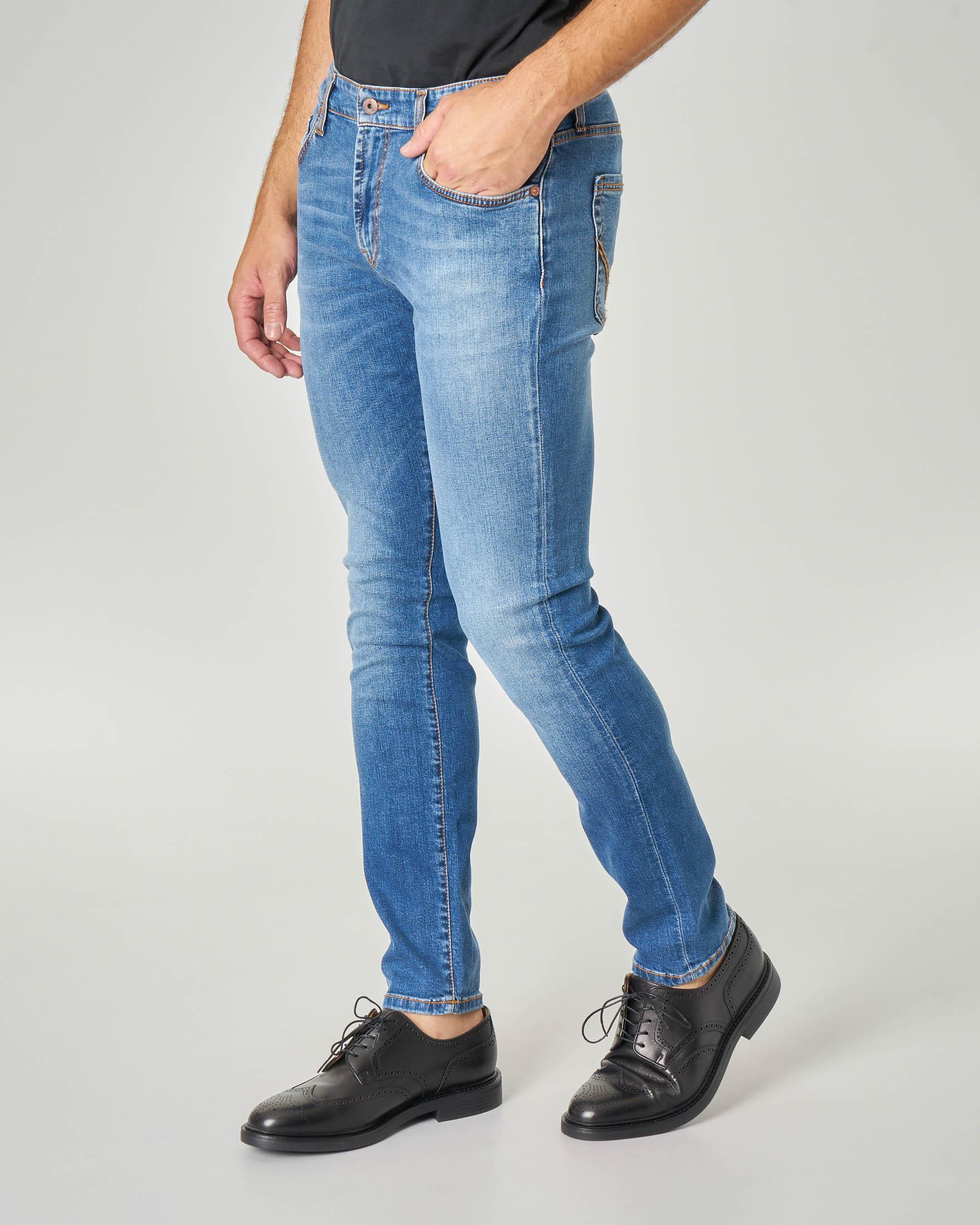 Jeans 317 Naos Campa lavaggio super stone wash