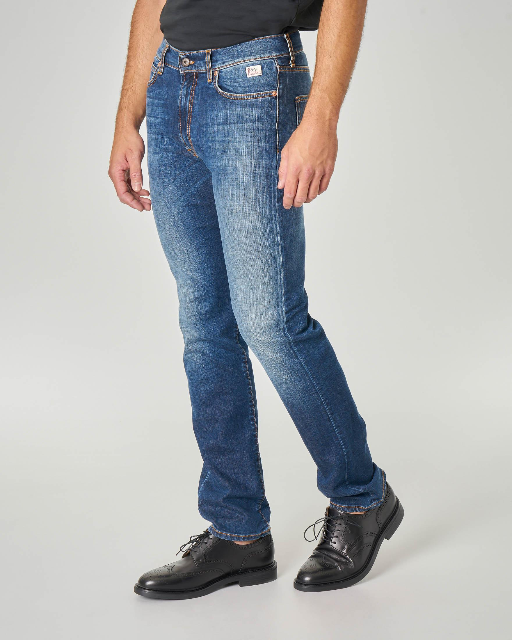 Jeans 927 Carlin lavaggio super stone wash