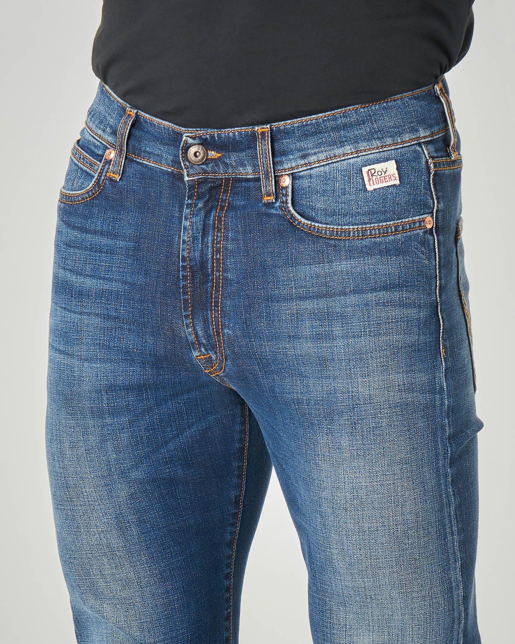 Jeans 927 Carlin lavaggio super stone wash