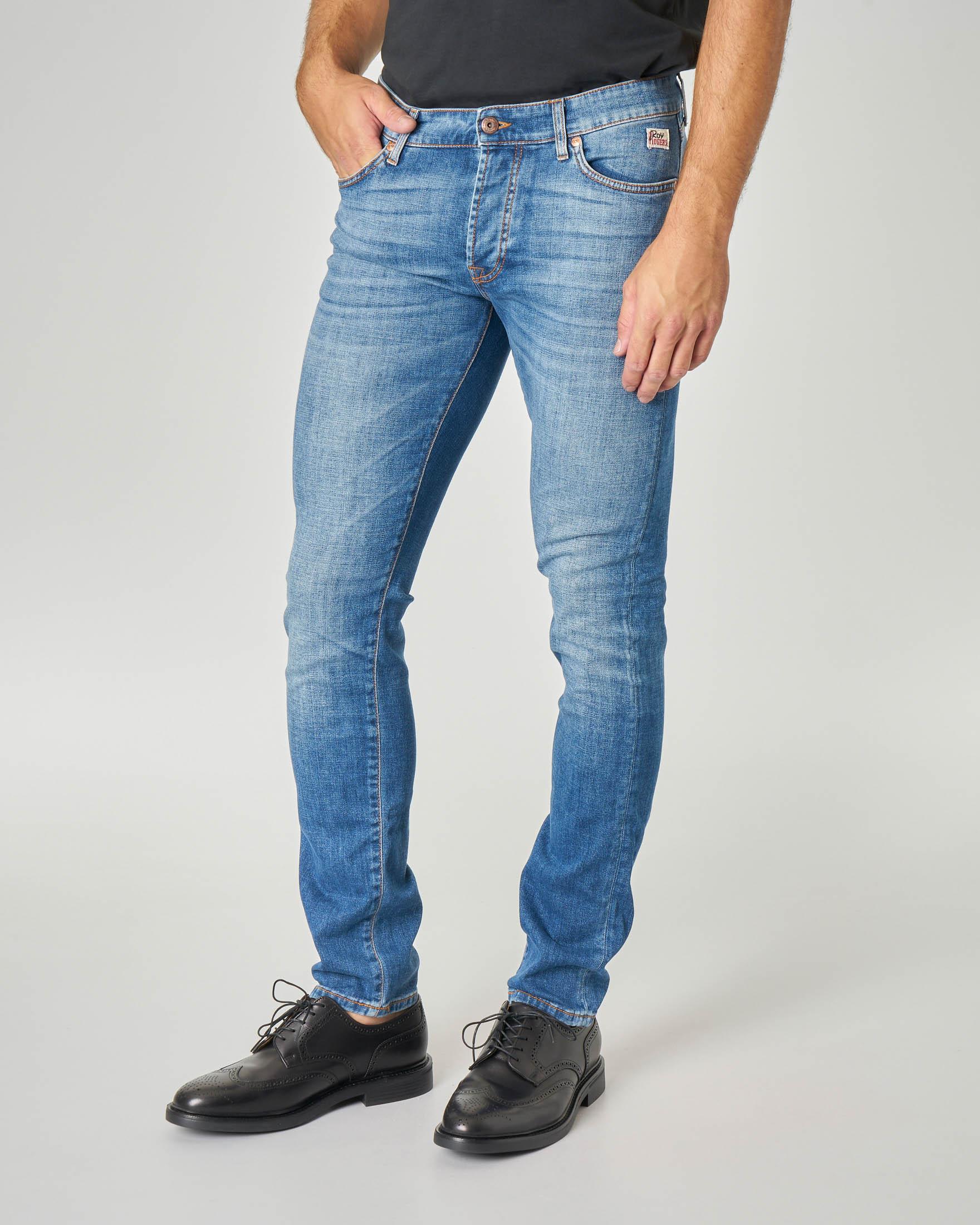 Jeans 529 Norizla lavaggio super stone wash