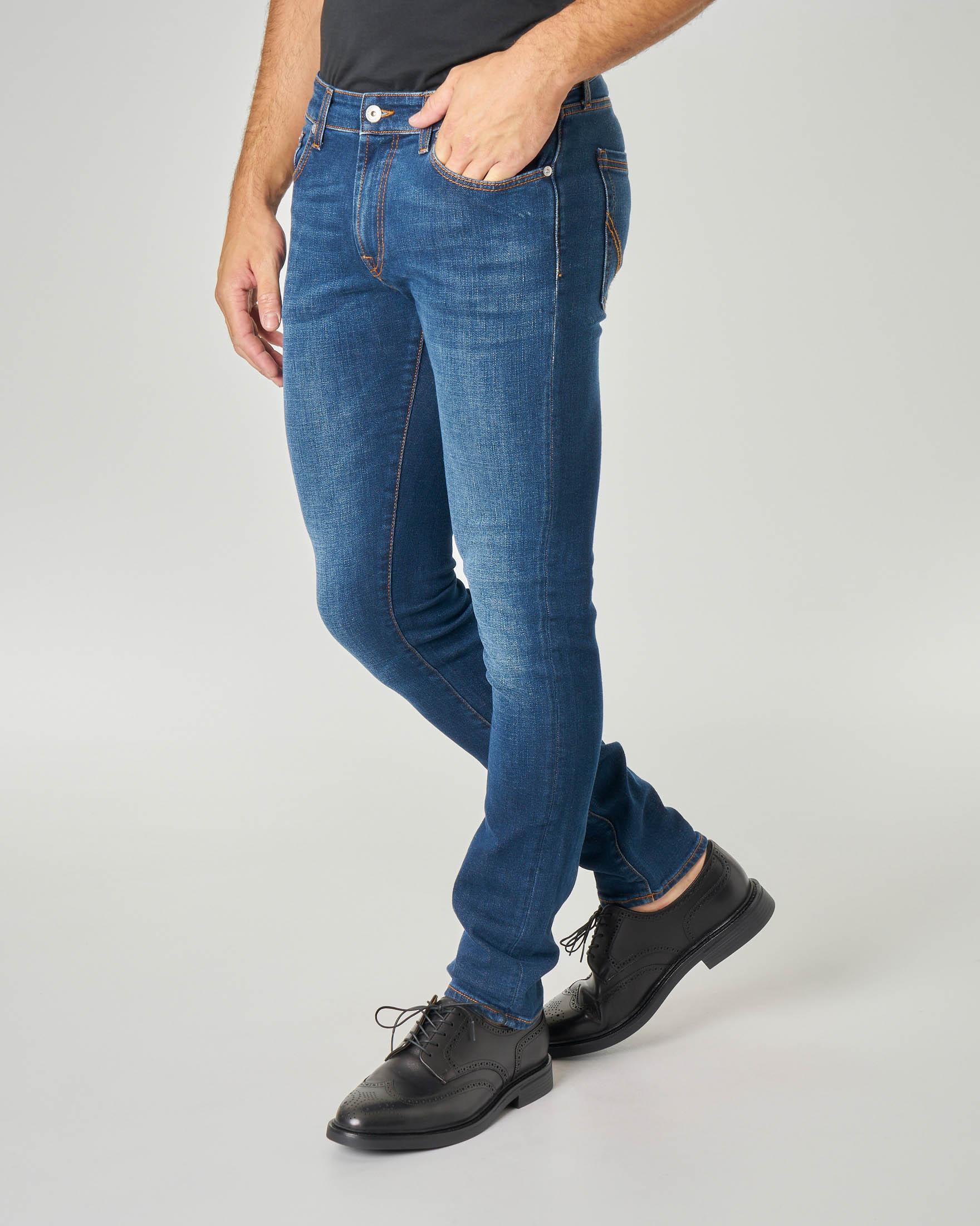 Jeans 317 Nozeleg Campa lavaggio stone wash