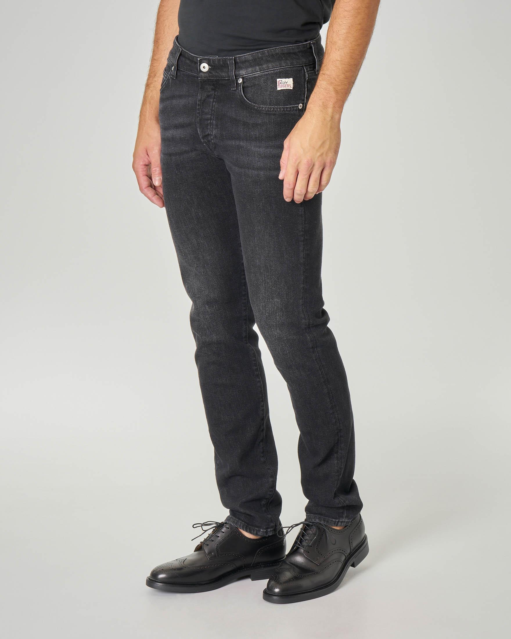 Jeans 529 Pistone lavaggio nero stone wash