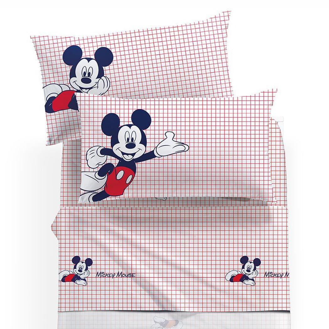 Lenzuola Matrimoniali Minnie E Topolino Bianco E Nero.Lenzuola Caleffi Completo Lenzuolo Disney Topolino Mickey Mouse Online