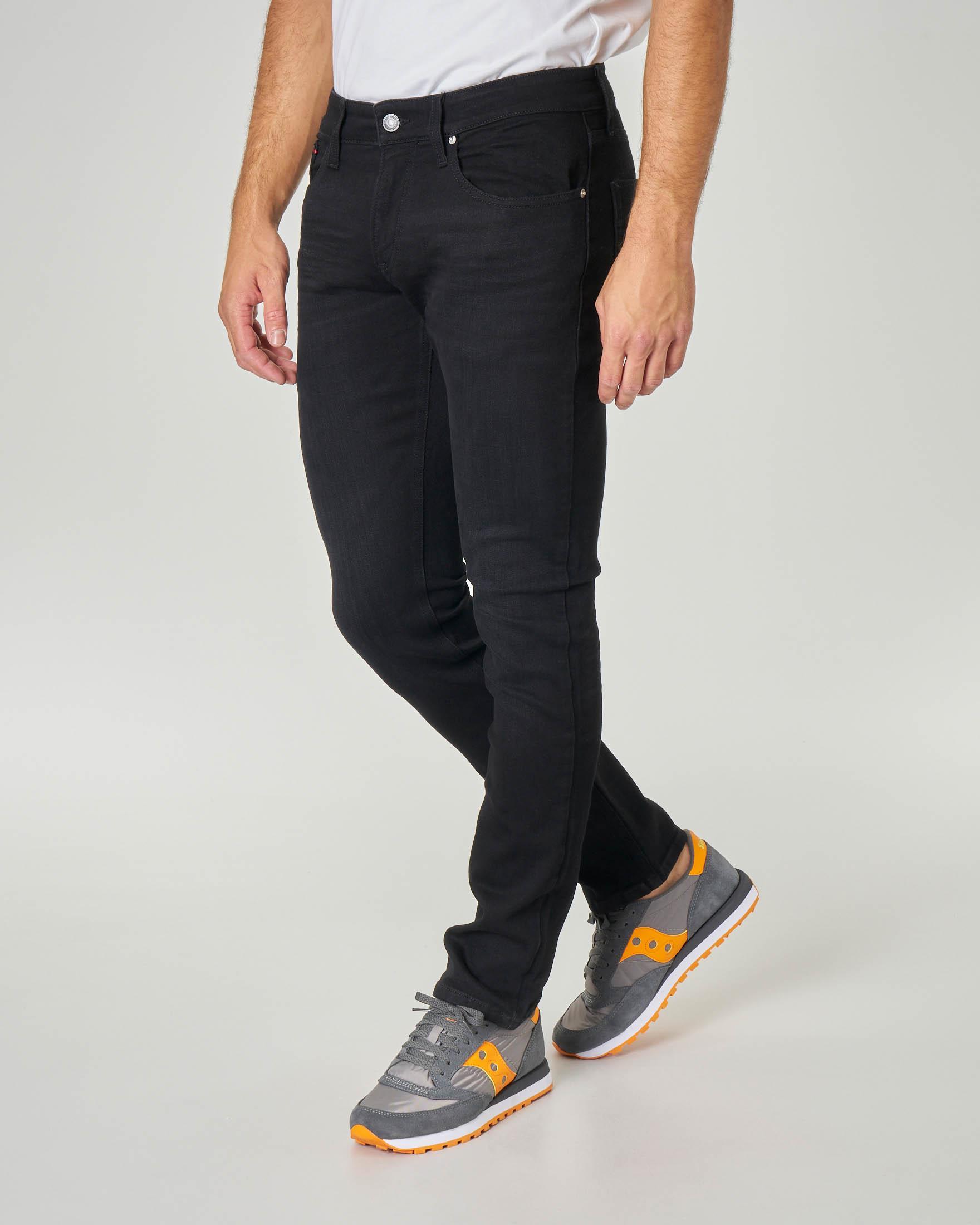 Jeans Scanton lavaggio nero