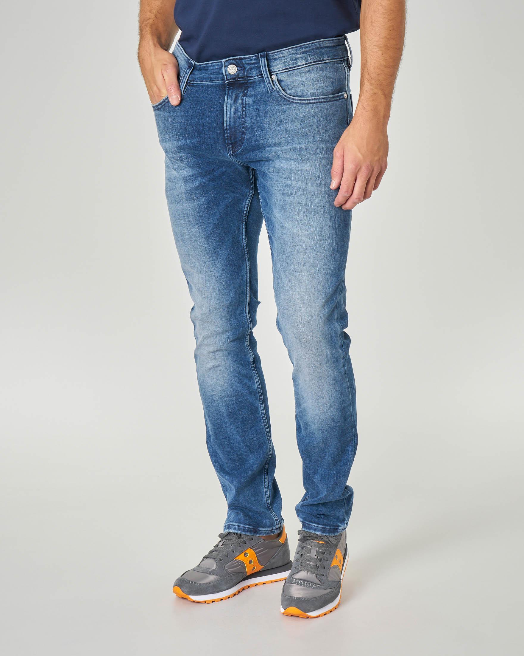 Jeans Scanton lavaggio super stone wash
