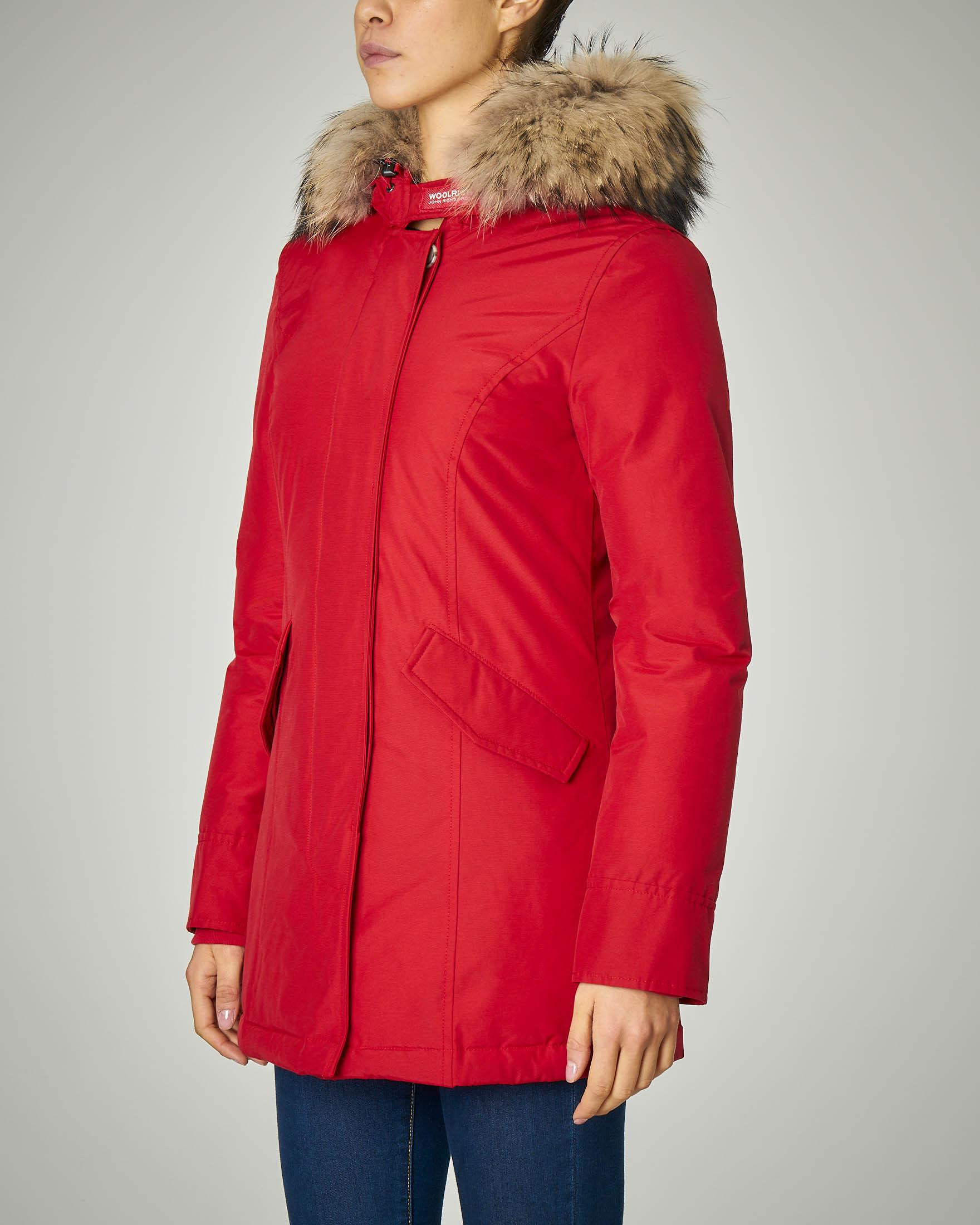 W'S Arctic Parka Fr rosso