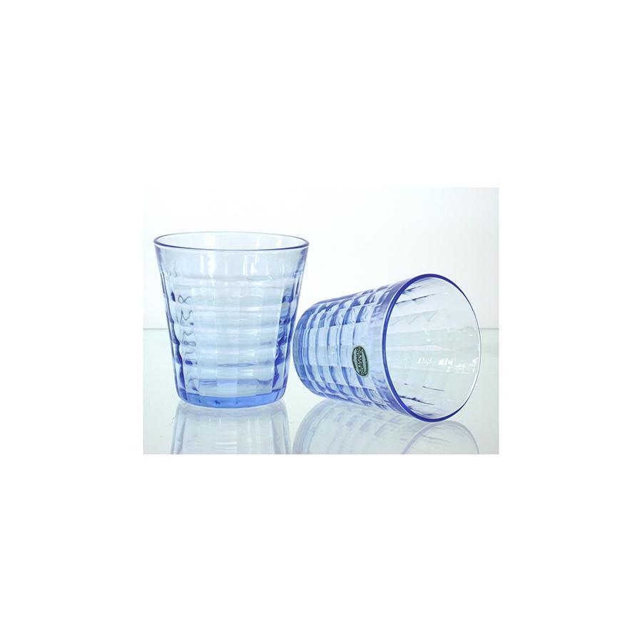 DURALEX Set 12 x 4 bicchieri in vetro prisme marine cl27.5