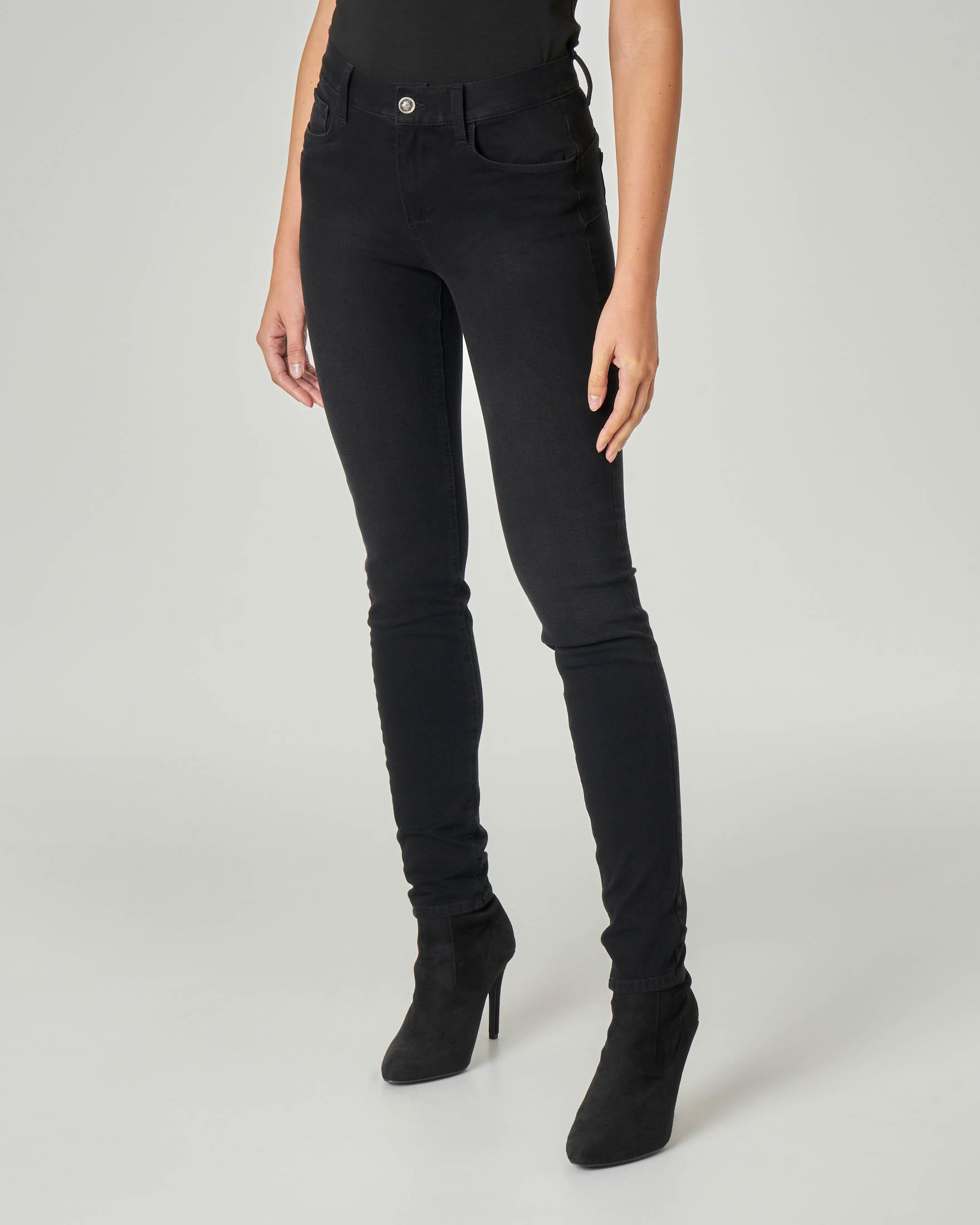 Jeans skinny Amazing fit nero