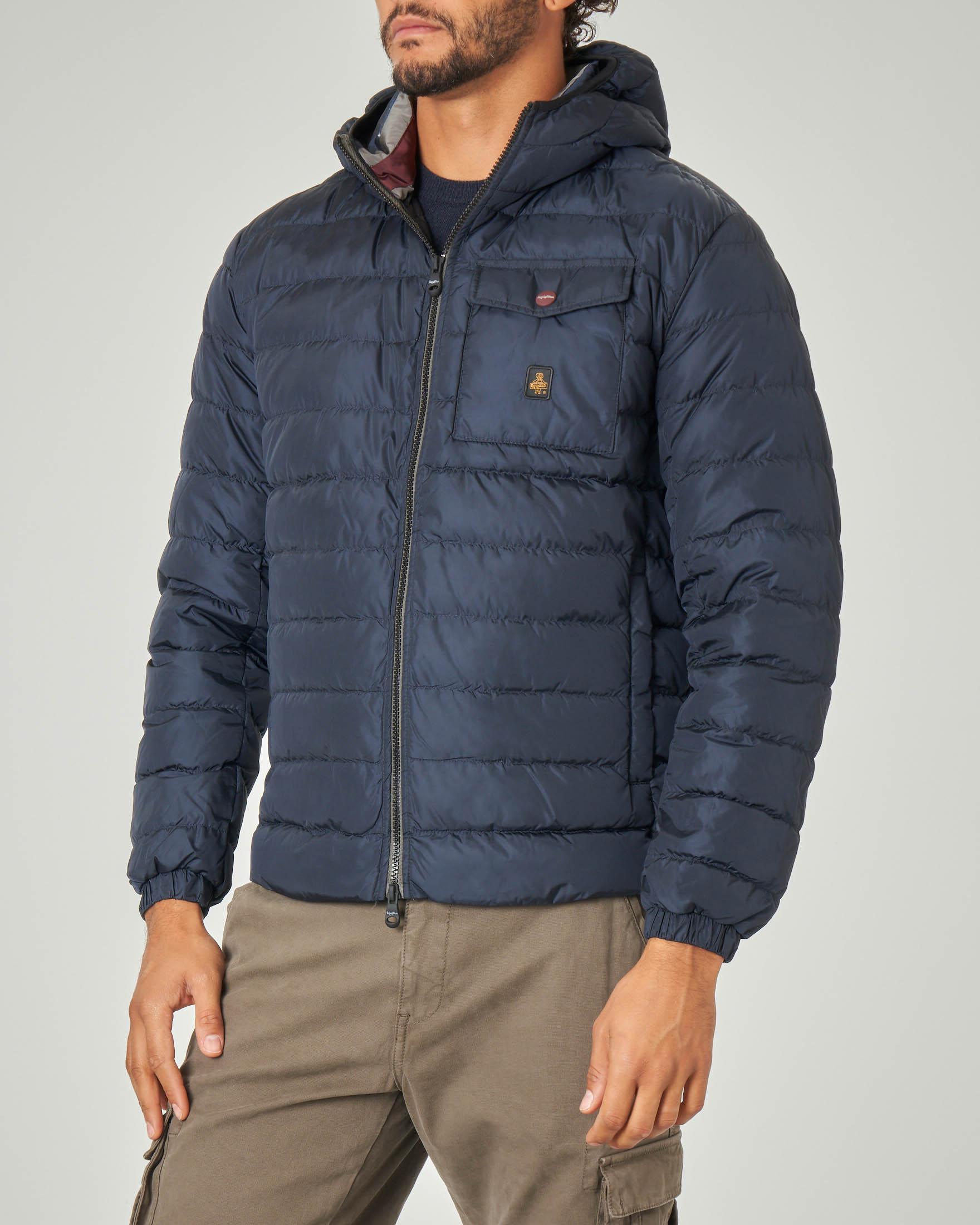 Piumino Hunter Jacket blu
