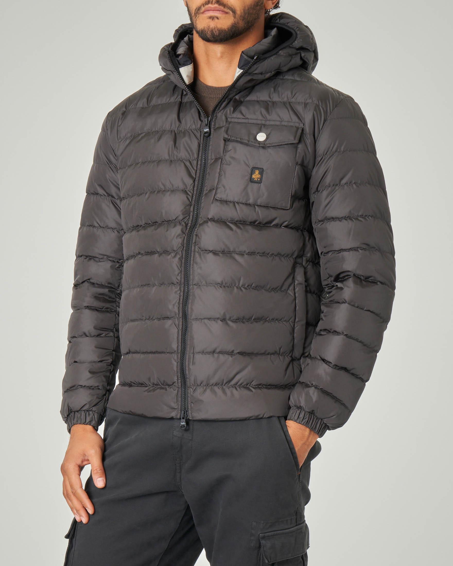 Piumino Hunter Jacket grigio antracite | Pellizzari E commerce