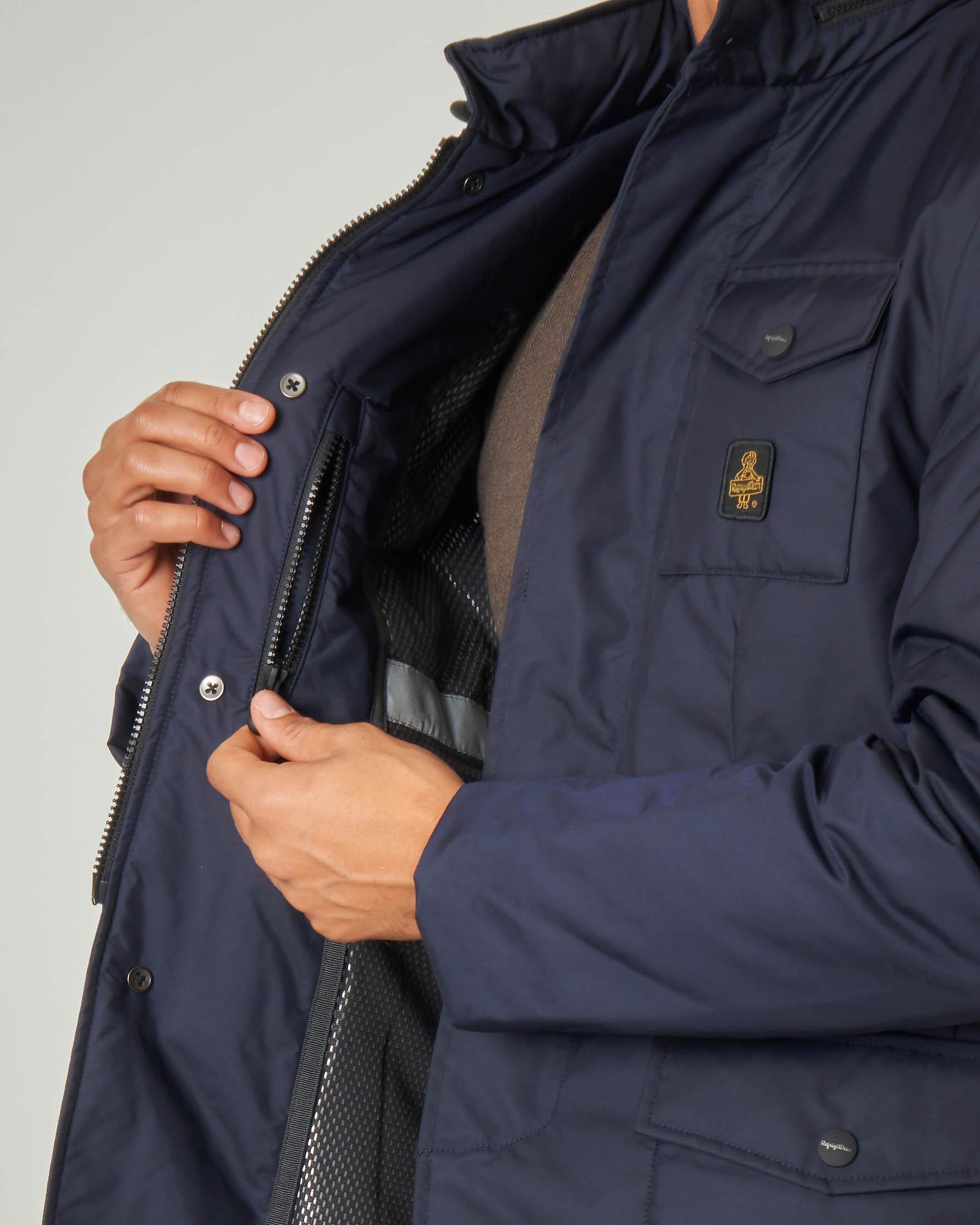 New Giant Jacket blu