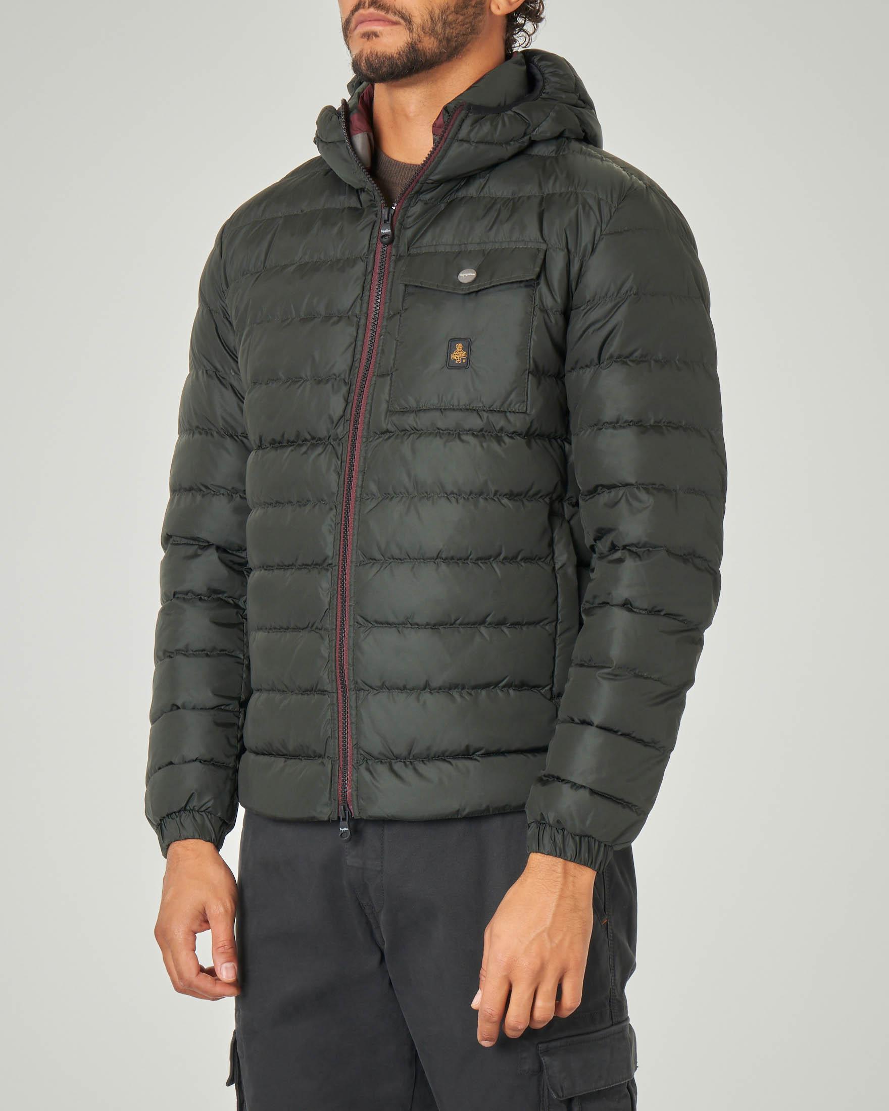 Piumino Hunter Jacket verde scuro